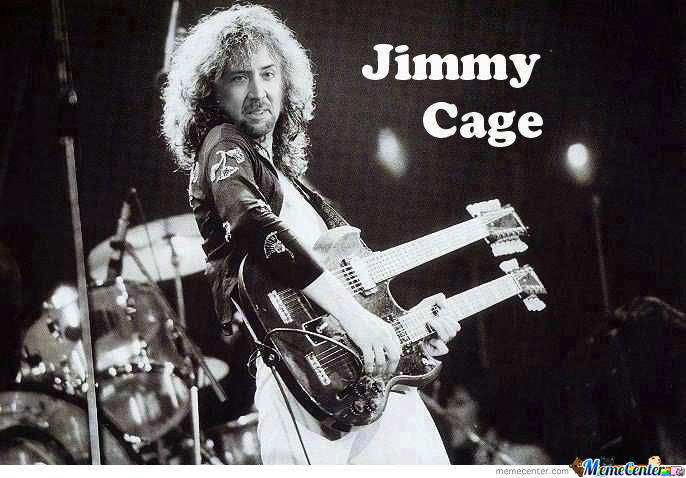 Jimmy P-Cage...