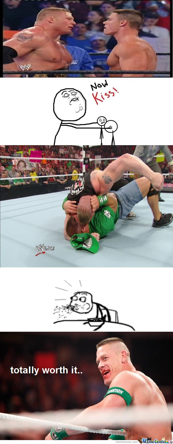 John Cena And Brock Lesnar