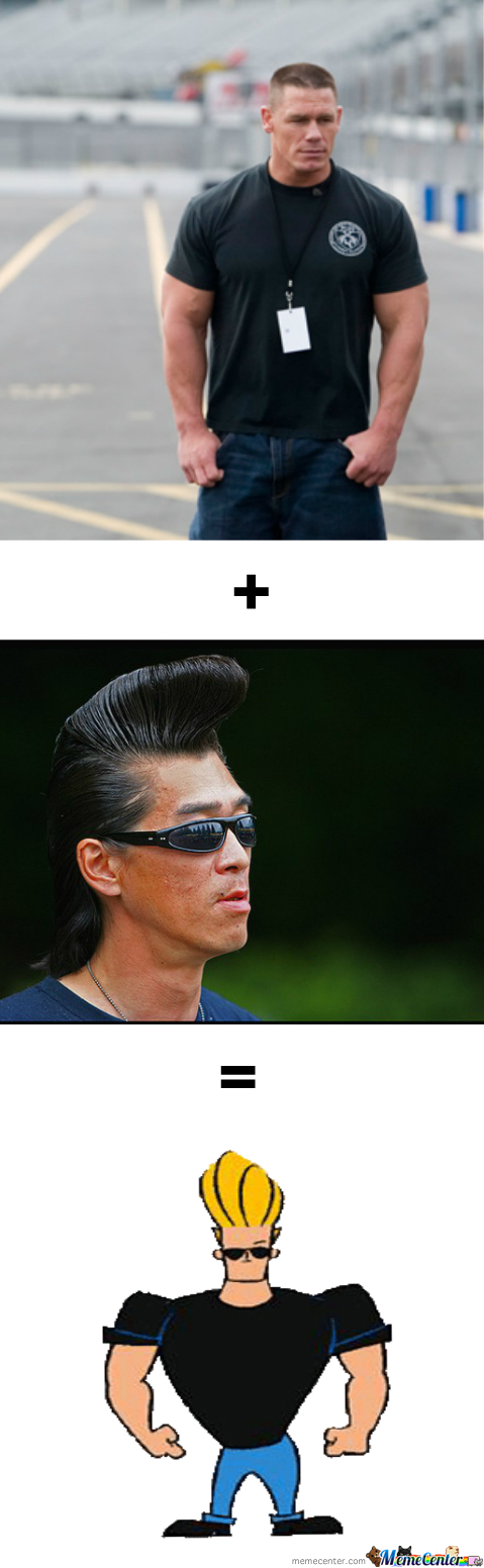 John Cena + Elvis Haircut = ?