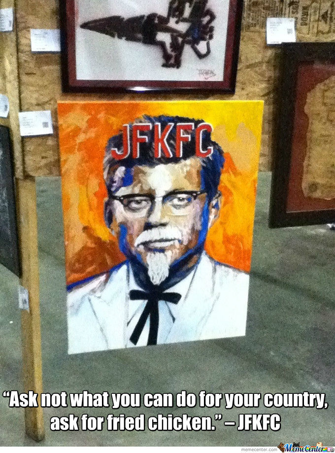 John F. Kennedy's Fried Chicken
