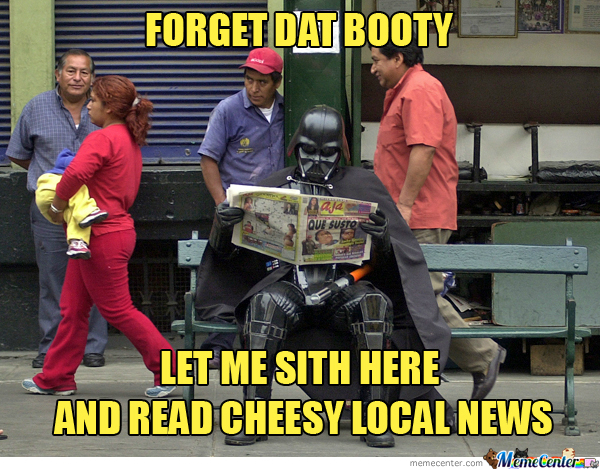 Join The Dark Side We Got Cheesy Local News
