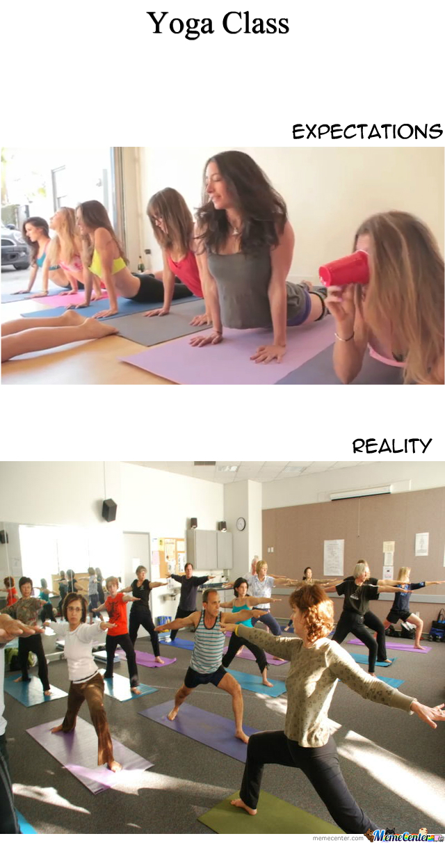 Joining The Yoga Class