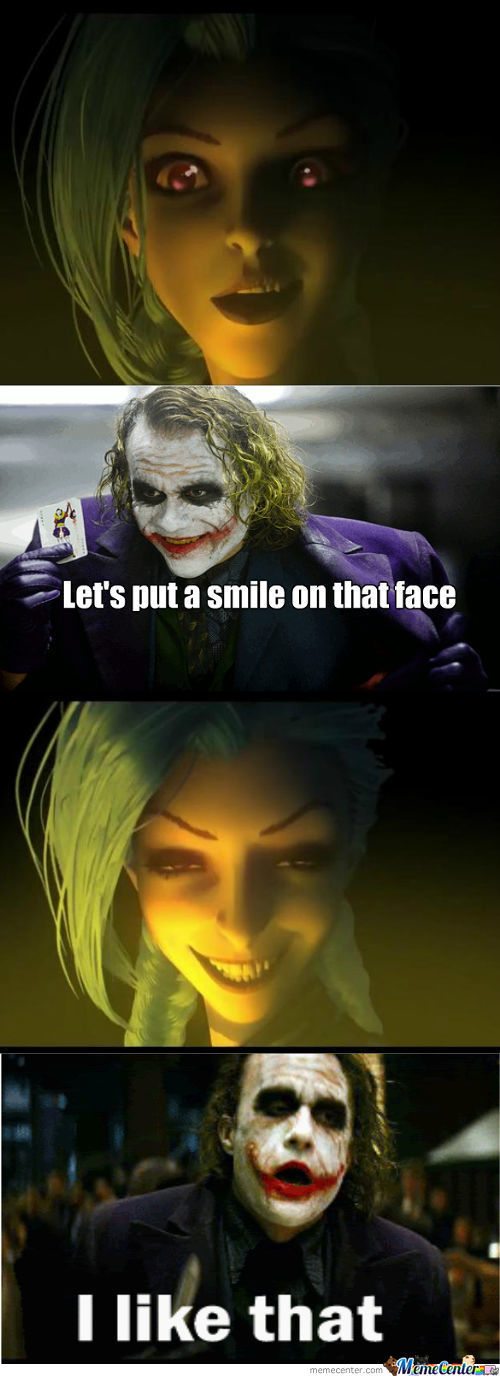 Joker's Reaction To Lol