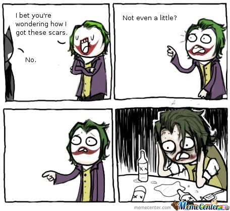 Joker Got Owned