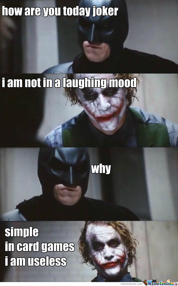 Joker Is Sad