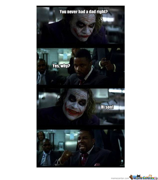 Joker Just Trollin.