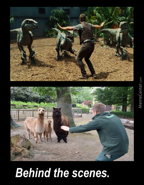 Jurassic World : Behind The Scenes