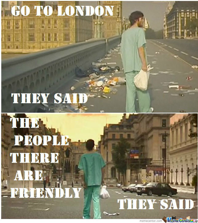 Just 28 Days Later.......