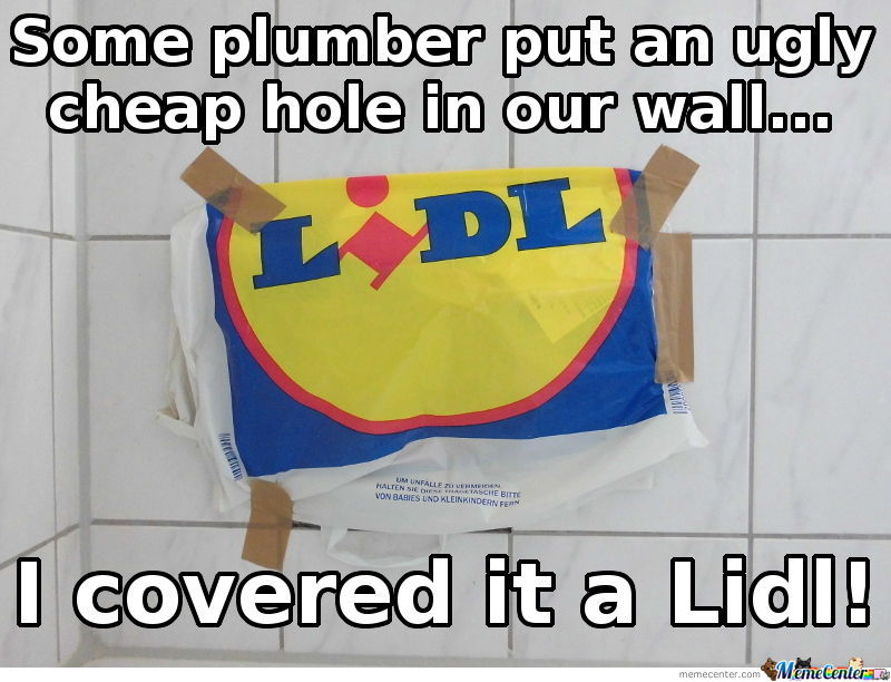Just A Lidl Joke For The Germans