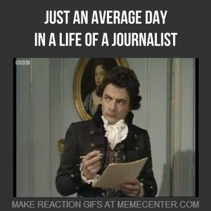 a day in life of a journalist Start studying 42 a day in the life of a journalist learn vocabulary, terms, and more with flashcards, games, and other study tools.