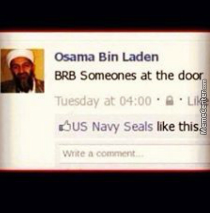 Just Bin Laden Things