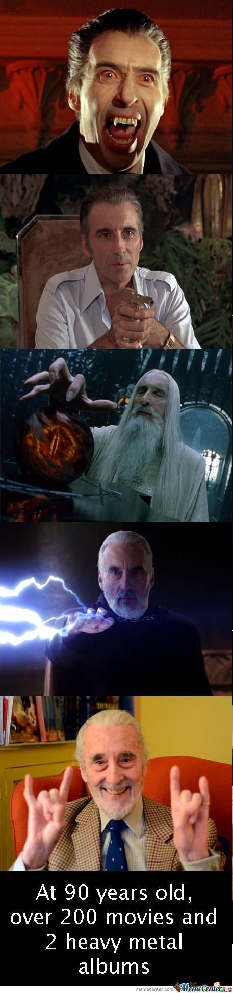 Just Christopher Lee