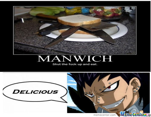 Just Gajeel Ordinary Breakfast