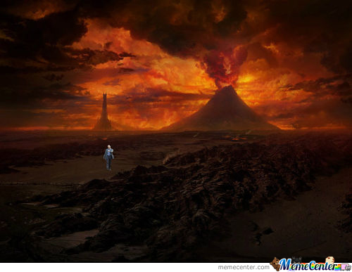 Just Got Back From Mordor, Simple Enough..