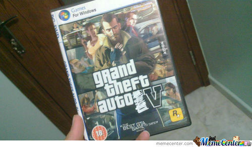 Just Got My Gta 5 For Pc
