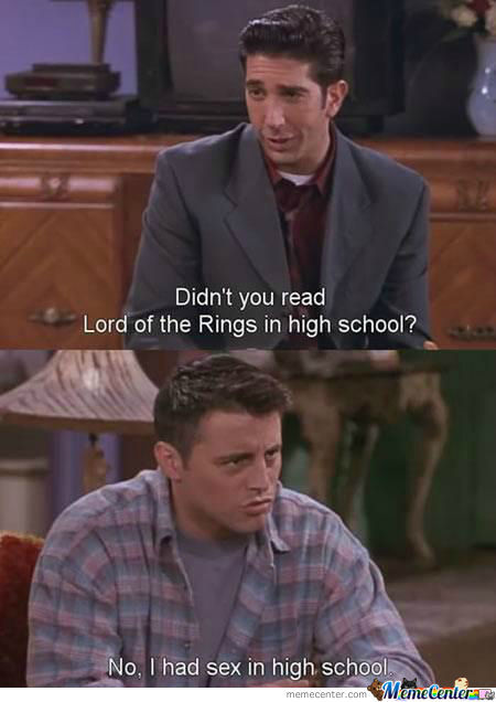 Just Joey.
