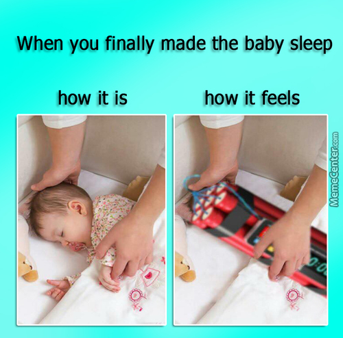 Just Like My Niece Omg It Cries Like A T-Rex When Wakes Up