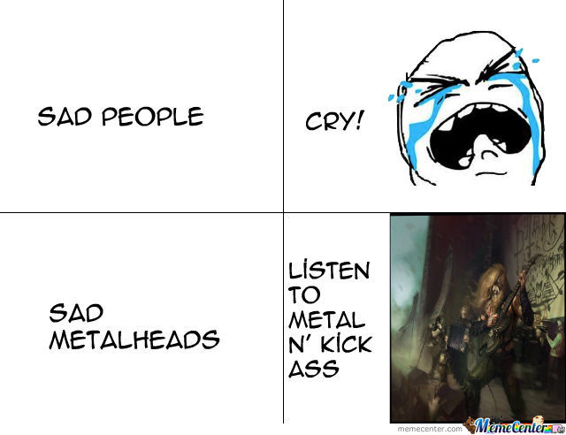 Just Metalheads!