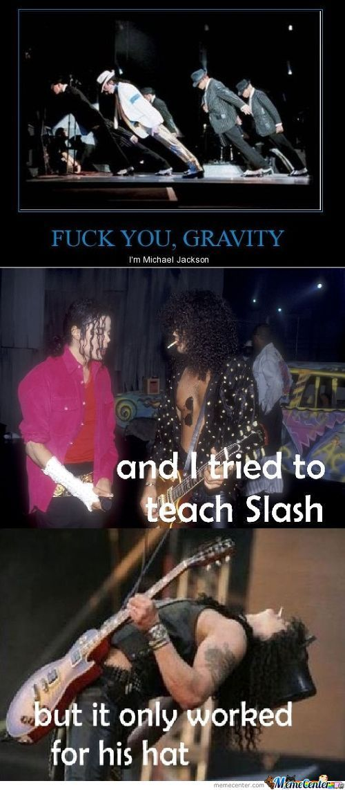 Just Mj And Slash