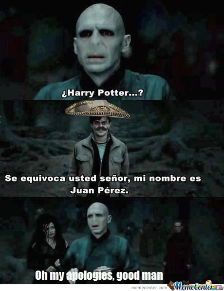 Just Mr. Potter !
