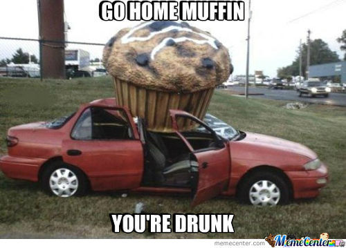 Just Muffin Get Drunk