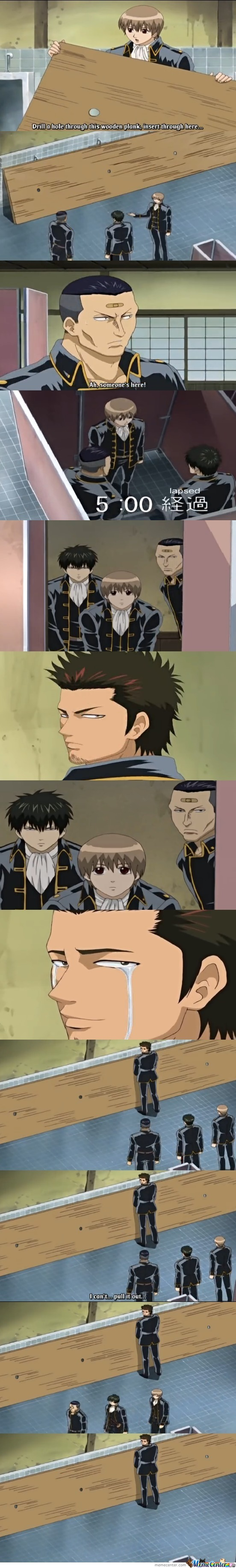 Just Normal Scene In Gintama Xd