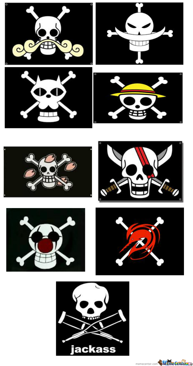 Just Pirate Flags . .  Wait. . What?