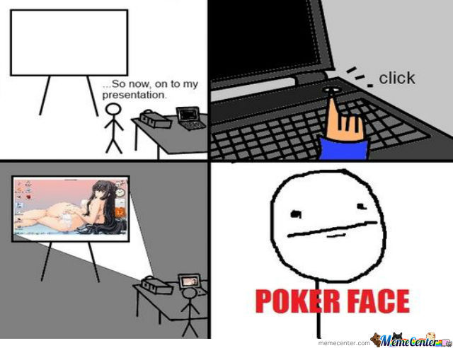 Just Poker Face...