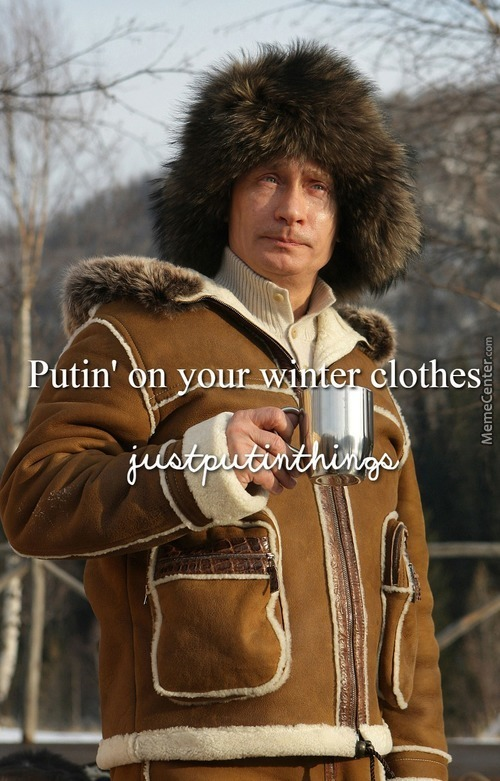 Just Putin Things