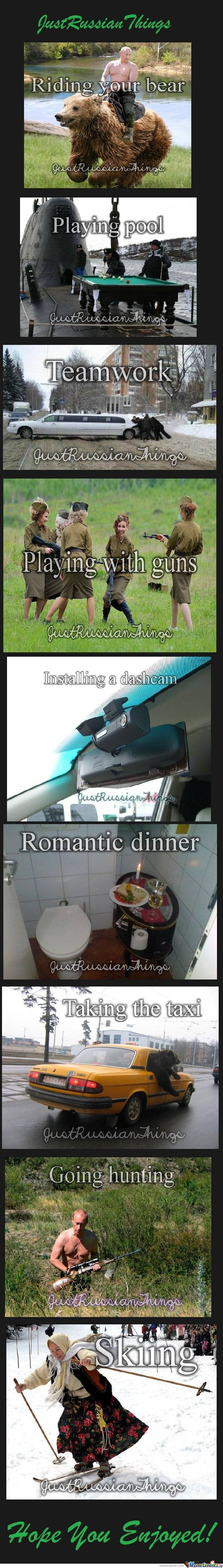 Just Russian Things
