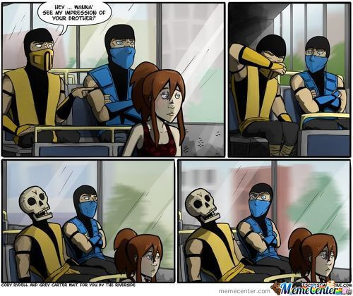 Just Scorpion Trolling C: