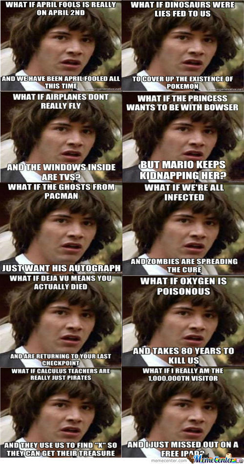 Just Some ''conspiracy Keanu'' For Ya :)