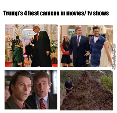 Just Some Popular Trump Cameos.
