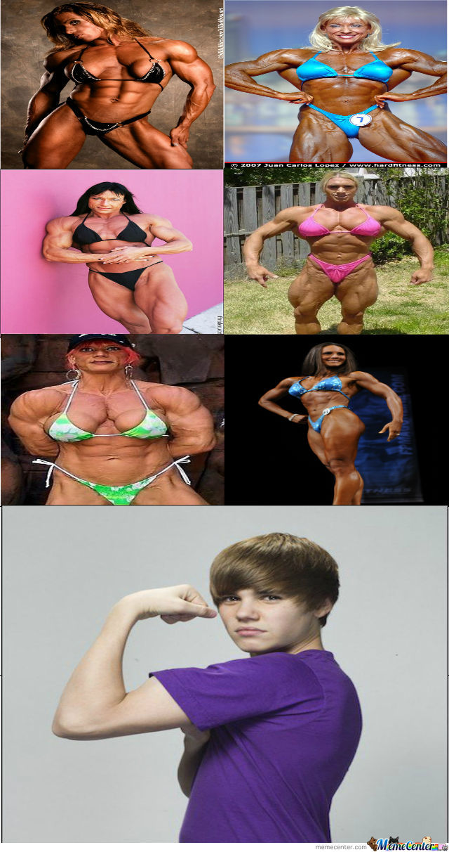 Just Some Women With Muscles