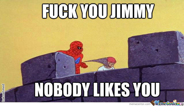 Just Spiderman.....