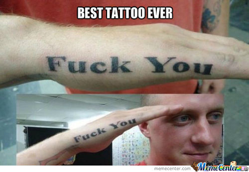 Just The Best Badass Tattoo