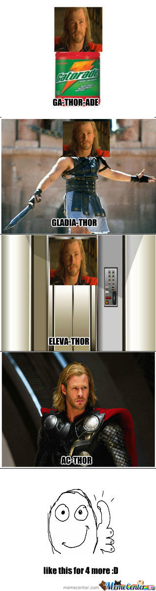 Just Thor 4 More