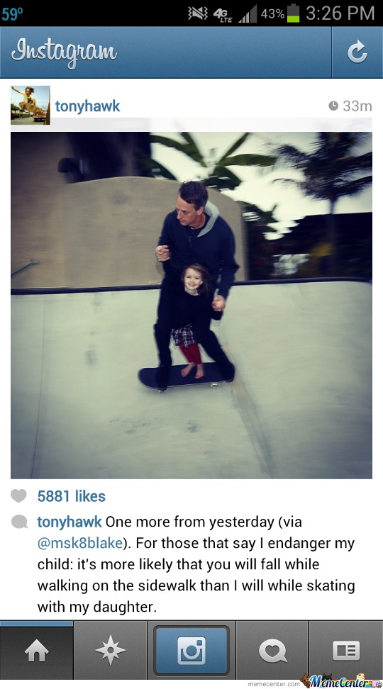 Just Tony Hawk Being Awesome