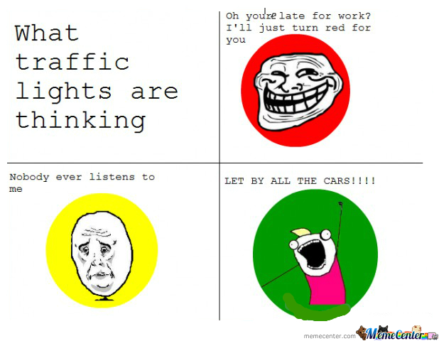 Just Traffic Lights....