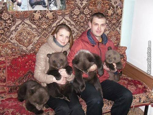 Just Usual Pets In Russia