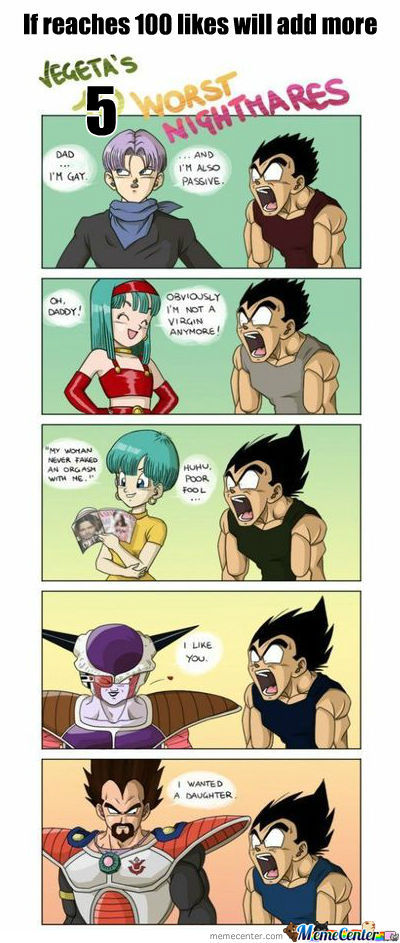 Just Vegeta Part 1