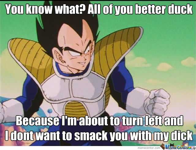 Just Vegeta
