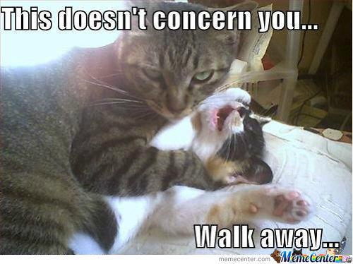 Just Walk Away.....