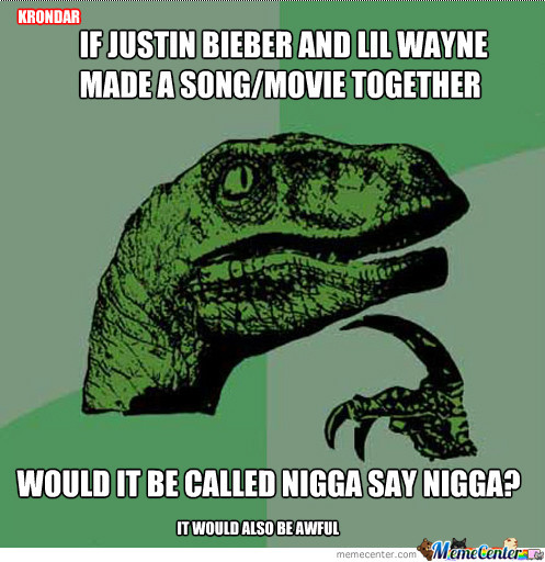 Justin Bieber And Lil Wayne Colab (*shudders At The Thought*)
