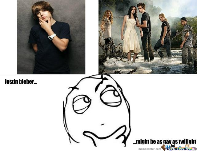 justin bieber as gay as twilight?