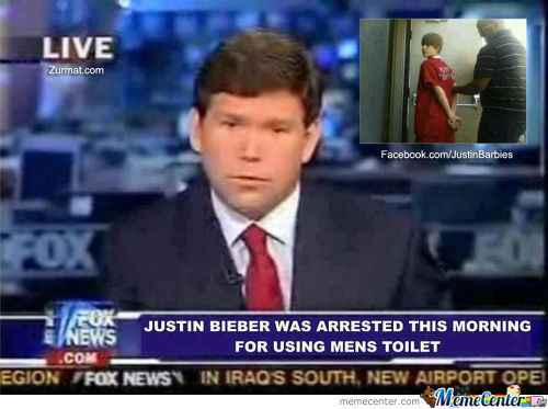 Justin Bieber Got Arrested
