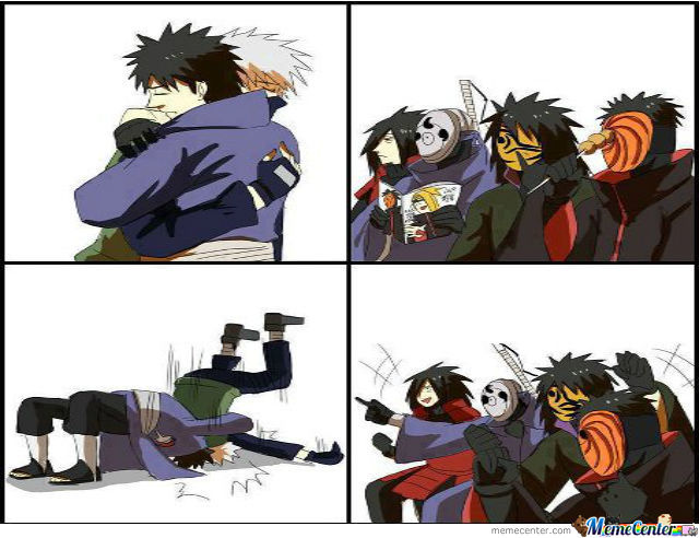 Kakashi Fell For It