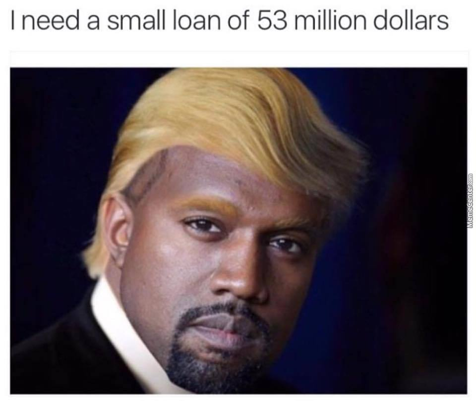 Kanye Trump by recyclebin - Meme Center