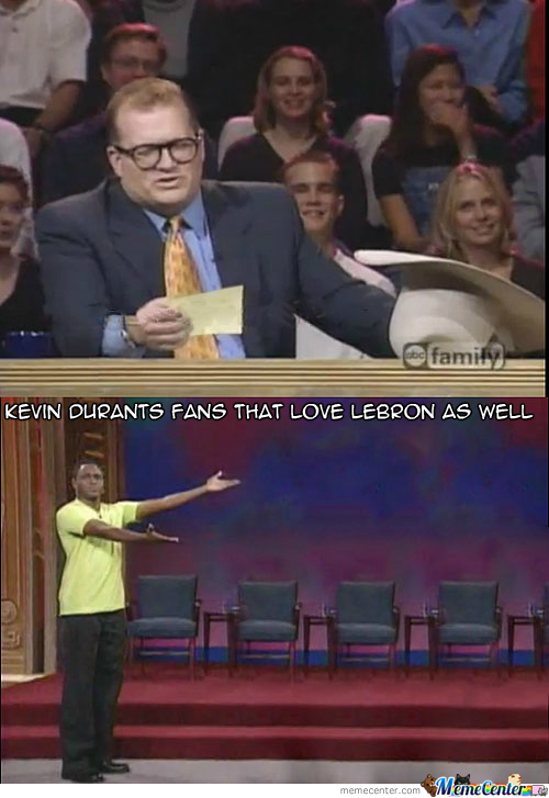 Kevin Durant's Fans That Love Lebron As Well