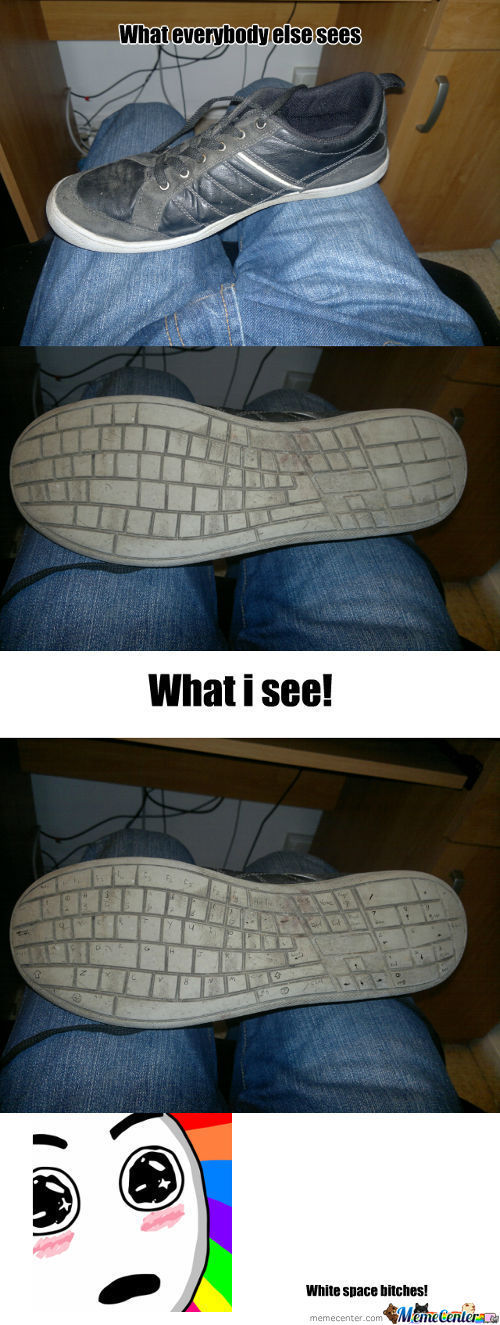 Keyboard Shoe!